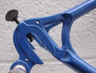 Identification, cadre Columbus groupe Campagnolo Porta-catena-4